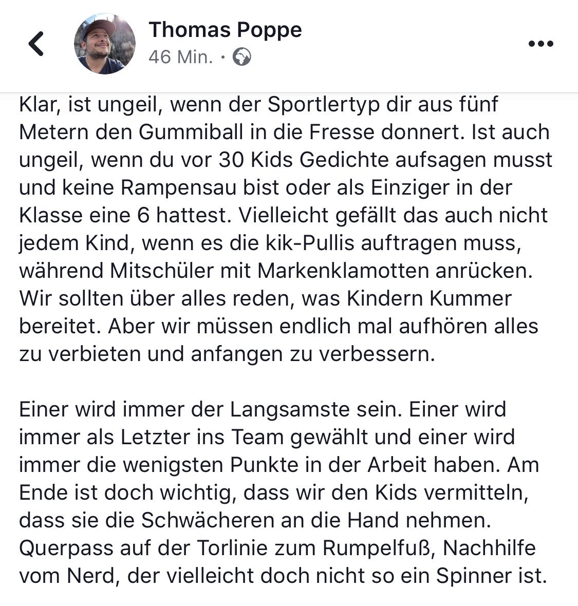 RT @DerPoppe: Meine paar Cent zum Thema #Völkerball. https://t.co/zBQhb3LW0v