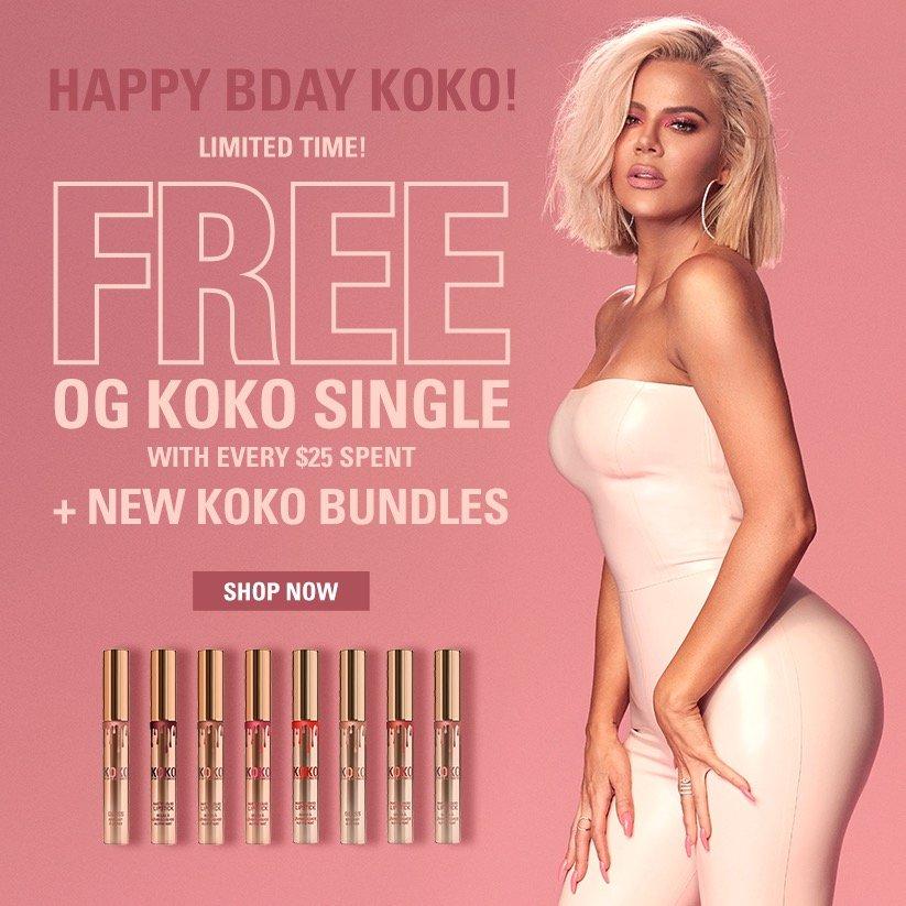 Get FREE Koko Kollection original lipstick singles to celebrate my birthday!! https://t.co/cipKYWhlH6 ❤❤ https://t.co/Z29vuKerh9