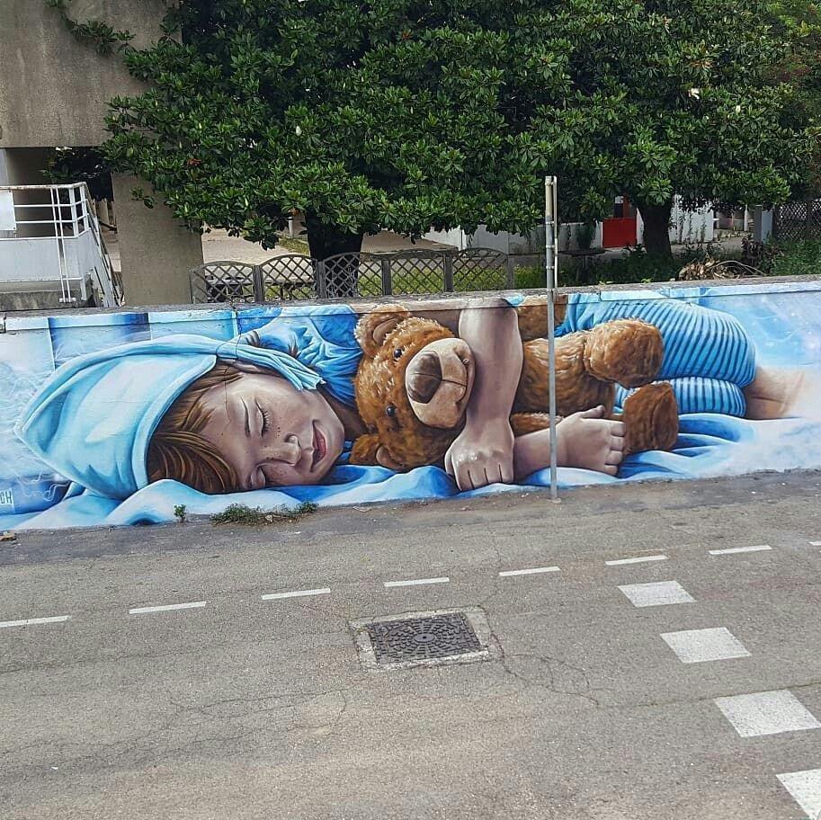 Lovely Street Art #MyStreetInspiration  Source: Pinterest https://t.co/xw73zYnqmp