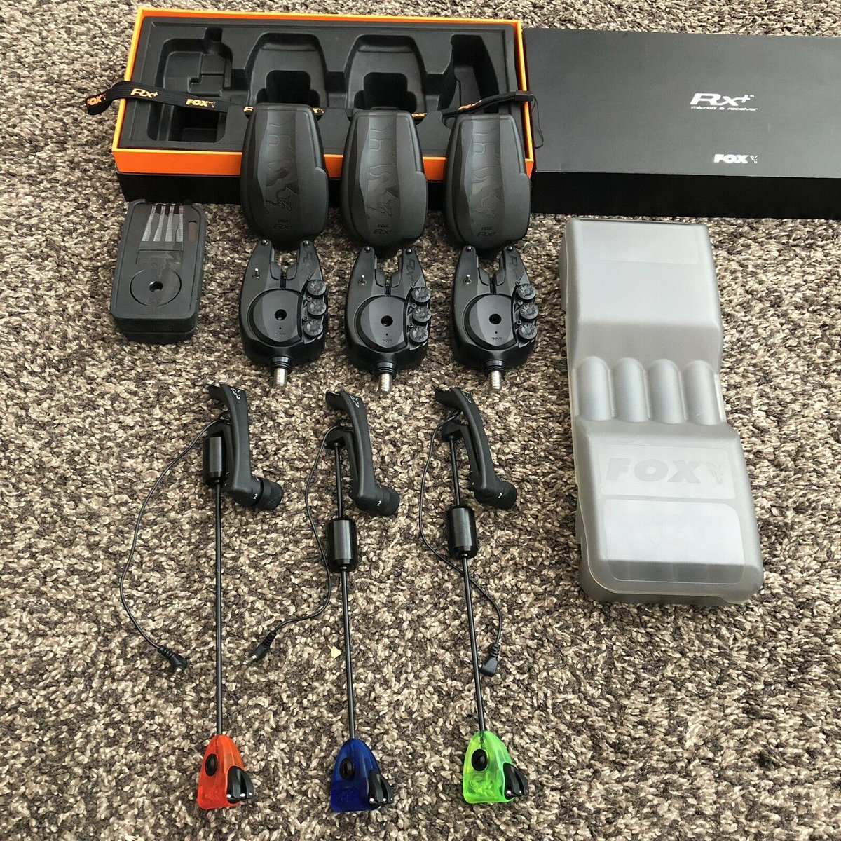 Ad - Fox RX+ 3-Rod Presentation Set For Sale On eBay here -->> https://t.co/wq4PT9wB08  #carpf