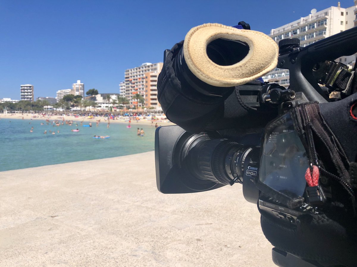 test Twitter Media - Filming in # Magaluf in temperatures over 40 degrees with @mattpriceITV for #ITV #News https://t.co/qPS4zkakkc