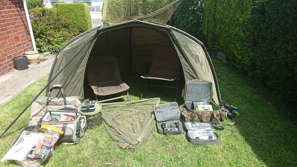Ad - Carp fishing 2-rod complete setup On eBay here -->> https://t.co/b93g1IJpR7  #carpfishing