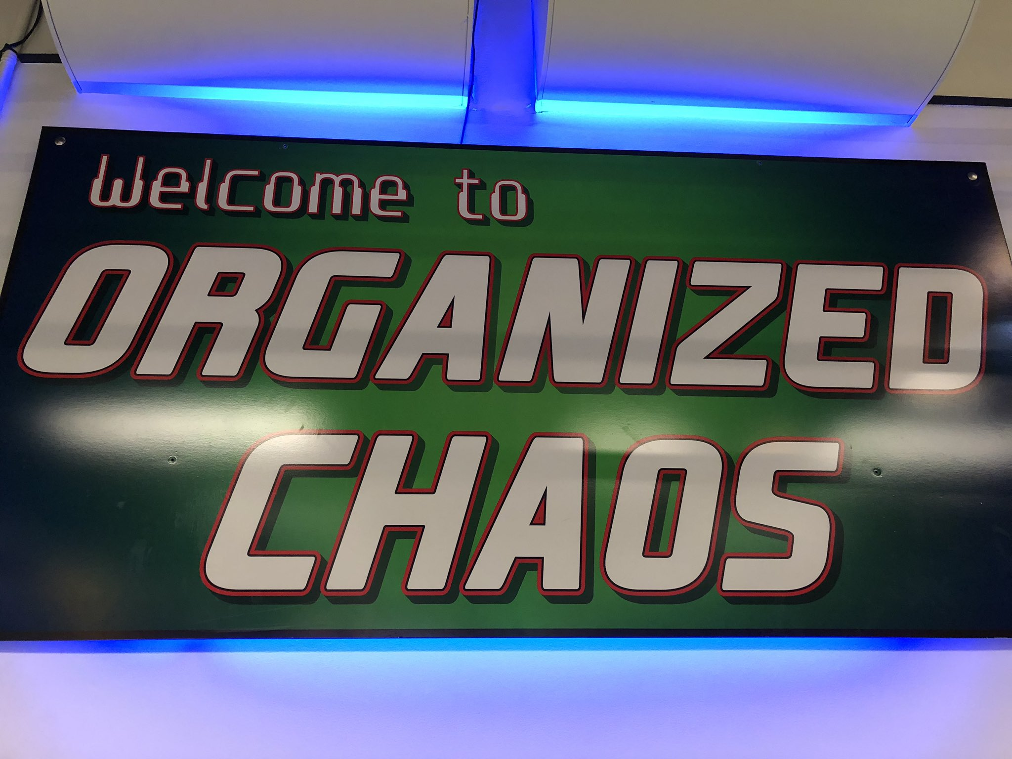 "This motto seems to apply equally to kids birthday parties and #MarTech. In both cases, ""organized"" is a little aspirational. https://t.co/siIVrDwQoe"
