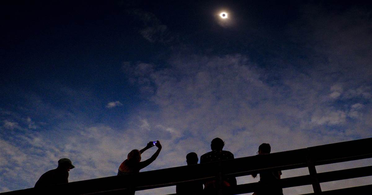 Skywatchers gear up for total solar eclipse