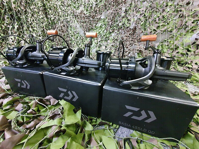 Ad - 3 x Daiwa Basia 45 SLD QD Big Pit Carp Reels On eBay here -->> https://t.co/eGO3SVO9pW  #