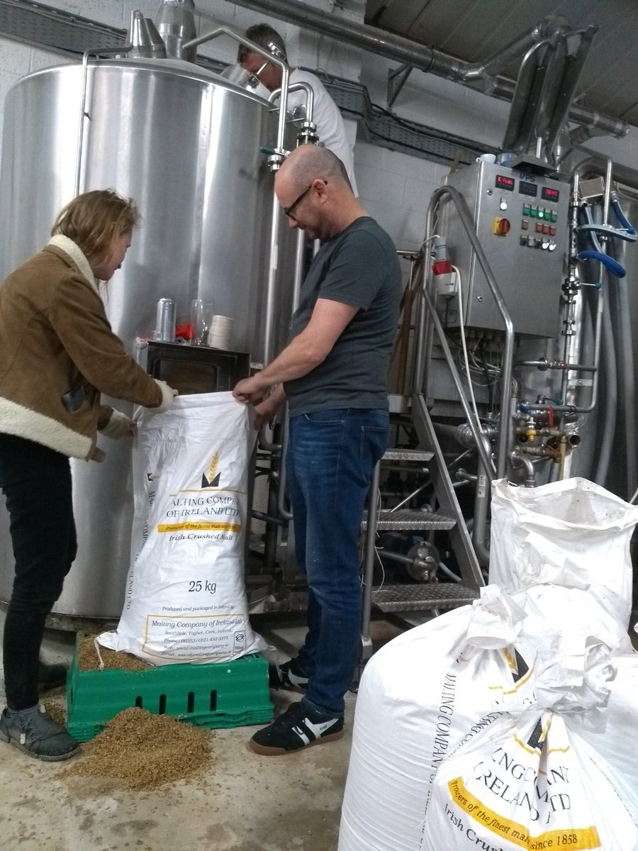 Thanks @ThirdBarrelbrew for a great day brewing (^Paul Barry) https://t.co/aWqKUCM91k