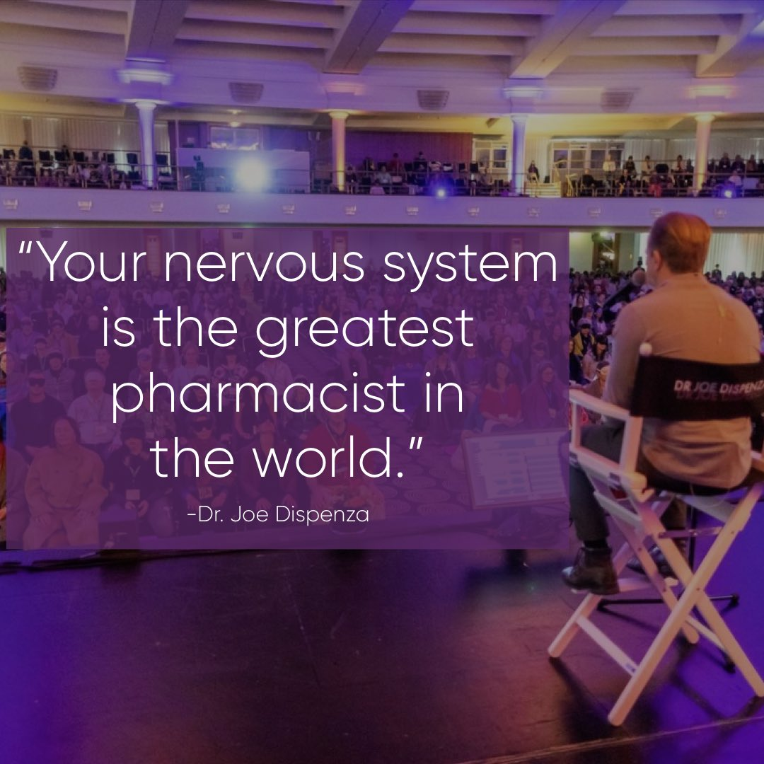 You can give someone a sugar pill, a saline injection or perform a false treatment, & a certain percentage of those people begin to program their autonomic nervous system to make the exact pharmacy of chemicals equal to the substance that they think they're taking. https://t.co/noZokMXAbC