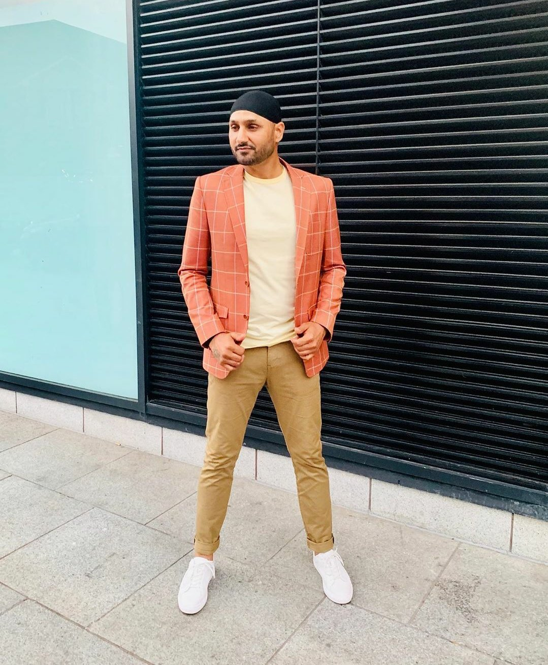 Happy Birthday Bhajji Image credit: Harbhajan Singh/Instagram.