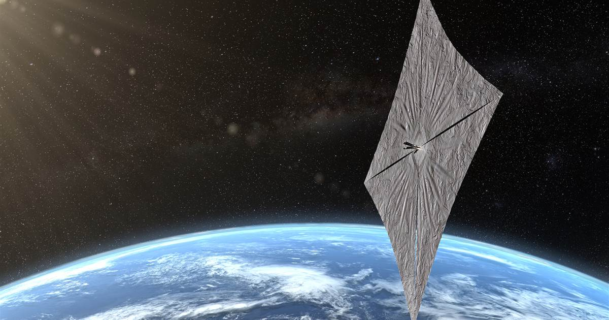 Spacecraft that sail on sunshine could be the next big thing in spaceflight