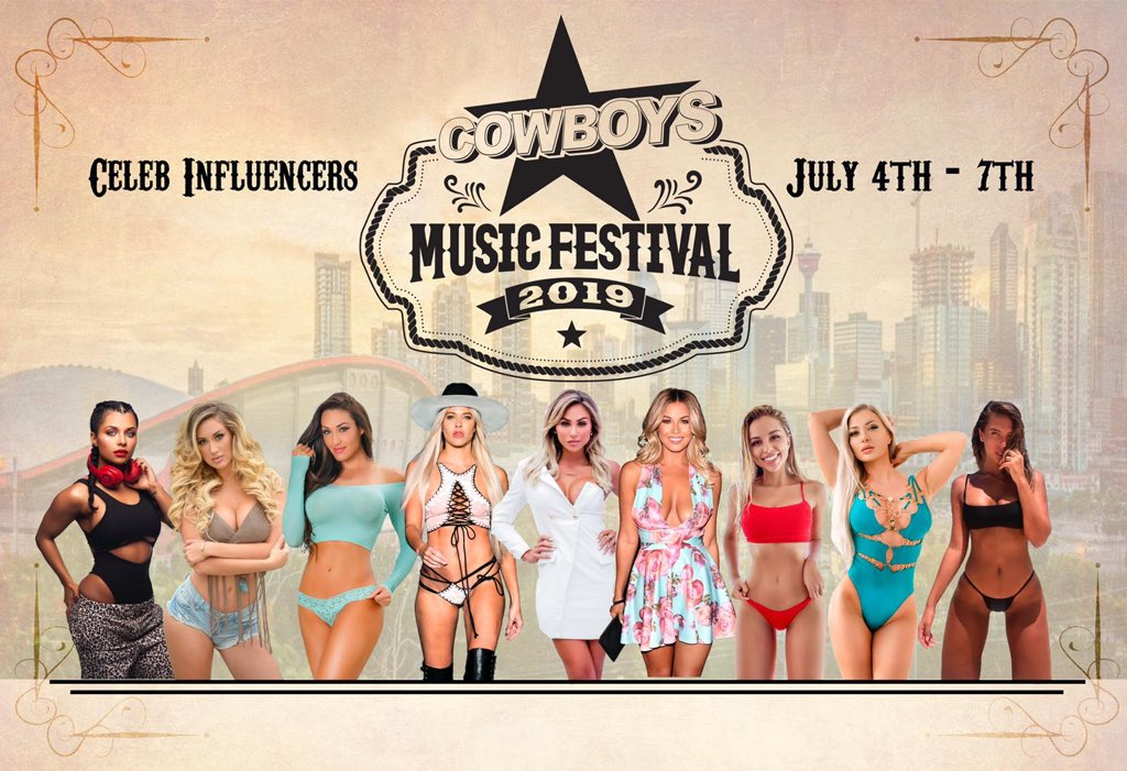 Calgary stampede whose ready!!??? Can't wait to see you all !!!! @calgarystampede @CowboysFestival https://t.co/NUXO0vI3rX