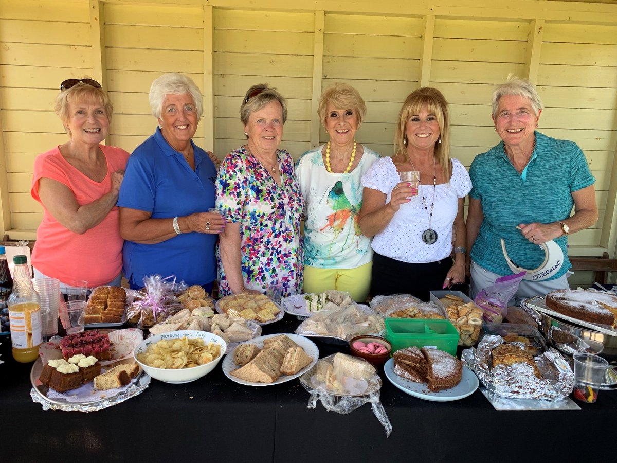 test Twitter Media - Our wonderful Ladies Section are hosting their Annual Open Day today & what wonderful weather they've had for it!🏌️♀️🌻  99 Players have taken part & our Ladies have greeted them with a fantastic spread in the Summer House on the 10th Tee of the Mackintosh 🍰🍹  #ladiesopenday https://t.co/3o2OQ8EGGO