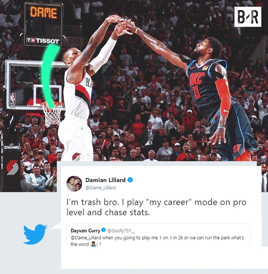 RT @BRGaming: Dame is just like us ???????? https://t.co/SUoZQppmNh