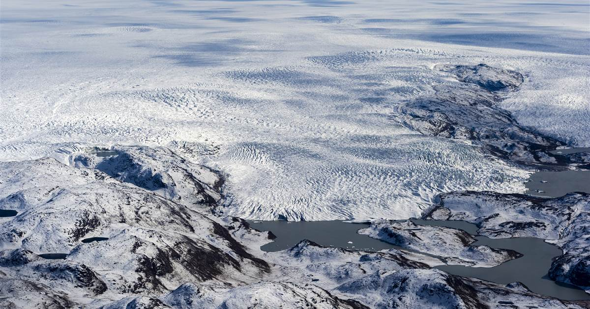 Dozens of lakes discovered deep under the Greenland Ice Sheet