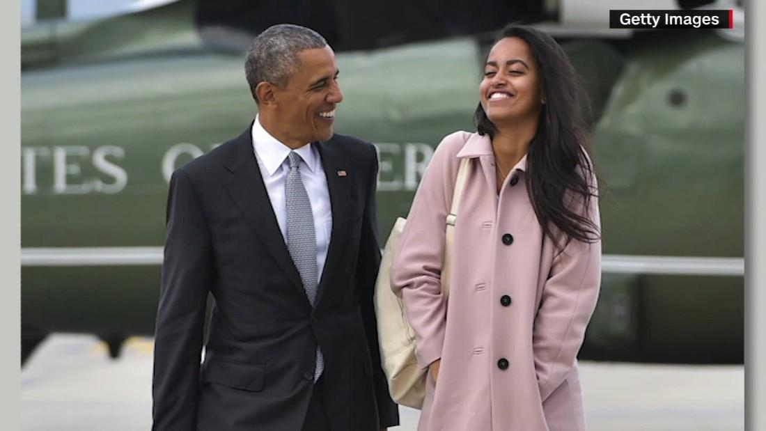 Twitter wishes Malia Obama a happy 21st birthday