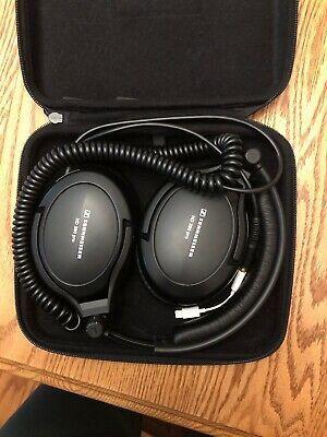 Sennheiser HD 380 PRO Headband Headphones – Black (TangledCord)...