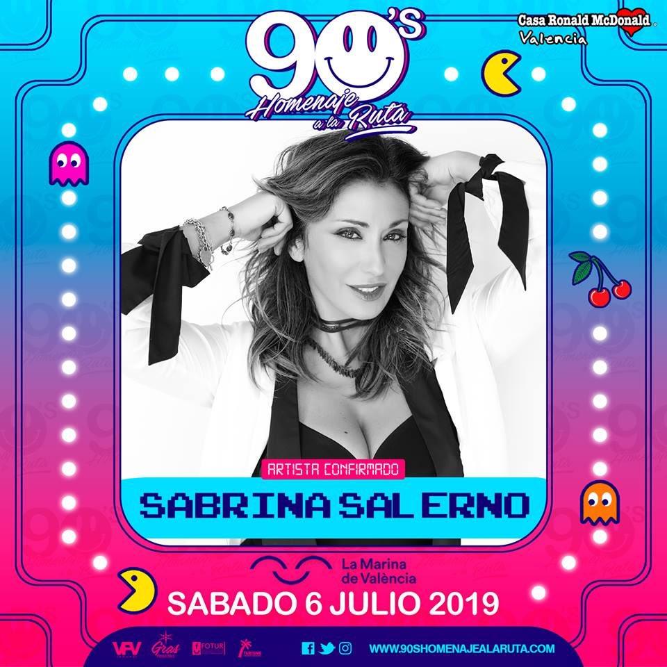 Esta noche vamos a bailar in #Valencia @homenajealaruta #90shomenajealaruta #Dance #sabrina #sabrinasalerno https://t.co/JnoN85WP1o