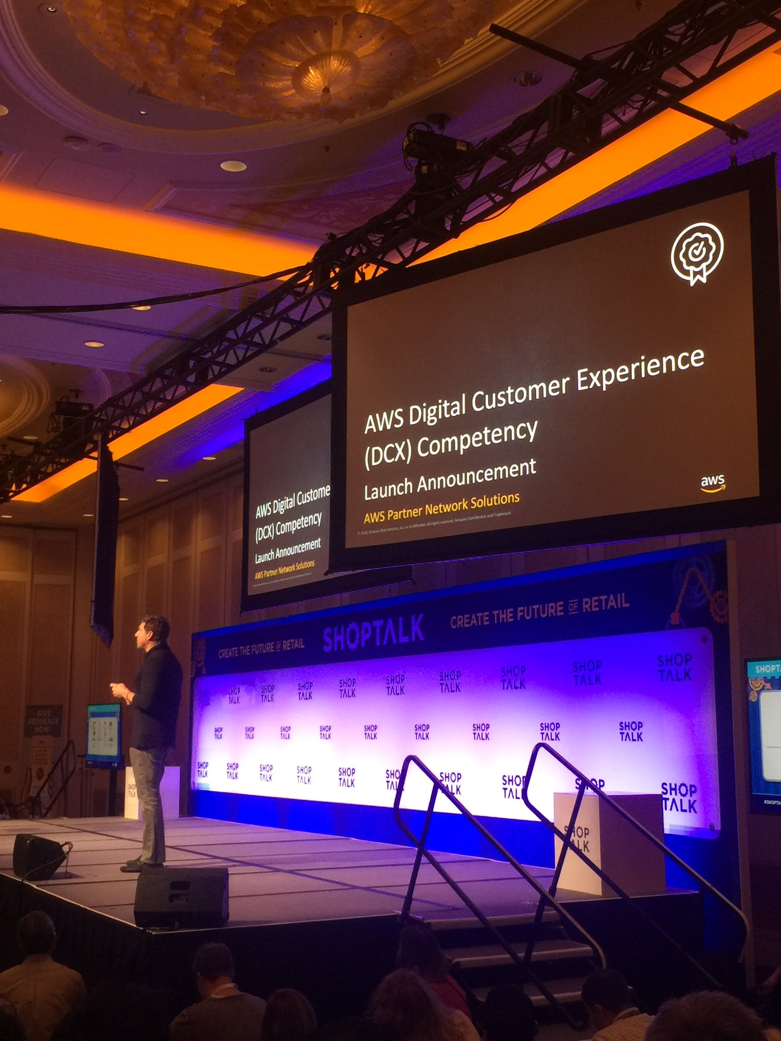 RT @dave_t3ch: Proud to be named an AWS DCX launch partner! 🙌 @Braze #ShopTalk19 https://t.co/BB0ZC50HSm