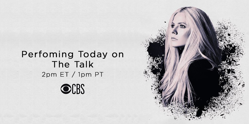 Tune in today to @cbs at 2pm ET/1pm PT to watch my live performance on @TheTalkCBS ???? https://t.co/dBdySjyVNV