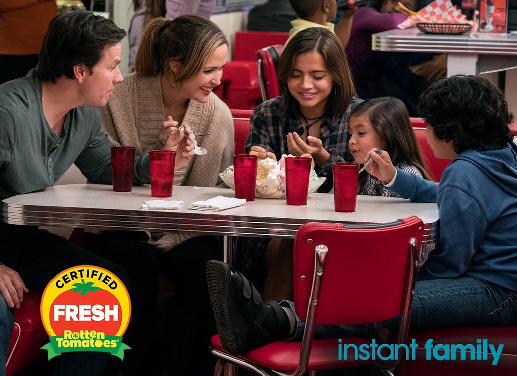 Today's the day! Now you can bring #InstantFamily home on Blu-ray and DVD! ❤️ https://t.co/Y50L4QucOT https://t.co/Q11UvEbEar