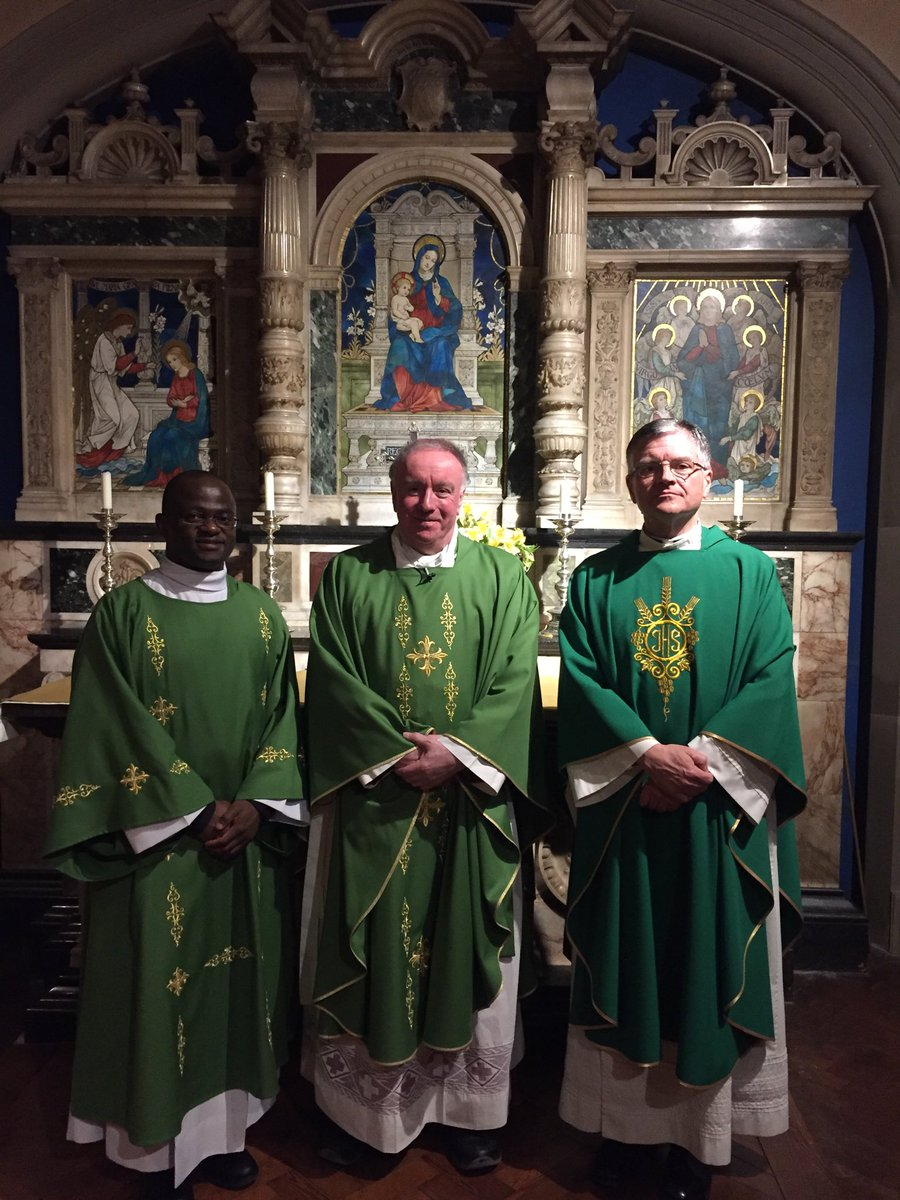 test Twitter Media - Visiting St John's Seminary Wonersh today and just offered Mass. here I am with Deacon Johnpromise (a Portsmouth student!) and Canon Brian the Rector. God bless them all this Shrove Tuesday. https://t.co/N3fwFZDsCB