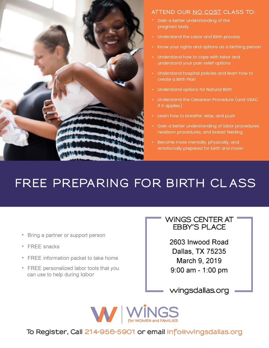 "test Twitter Media - Sign up for WiNGS March 9th free Child Birth class. The program offers valuable information on labor, birth and parenting, and is ideal for any first-time parents as well as those who are adding ""new additions"" to their families. Sign up at https://t.co/Q247nqwPNn. https://t.co/xeEa1X996u"
