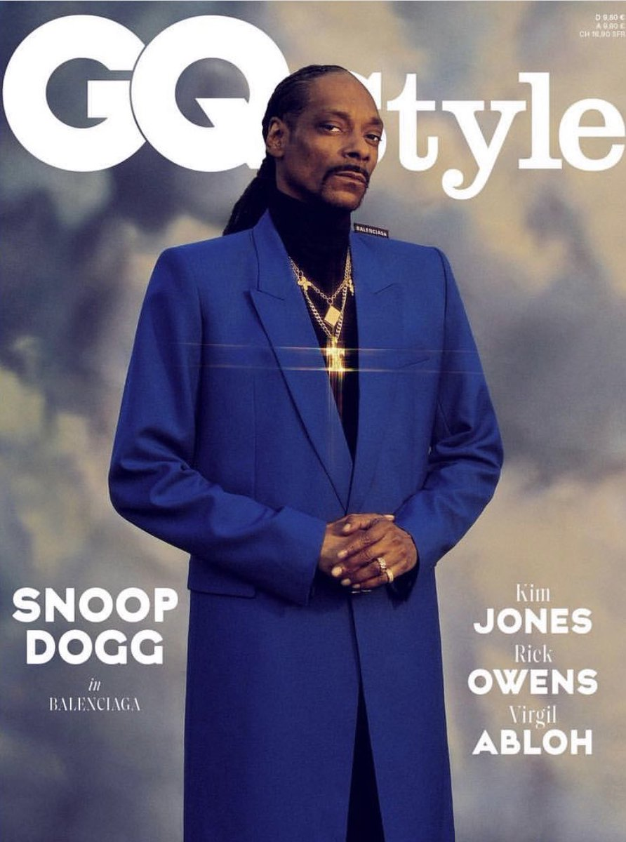 Stay suited n booted ✨ Boss Dogg Issue of GQ dropping this week! #GQstyleGermany https://t.co/B2CMInDdpo