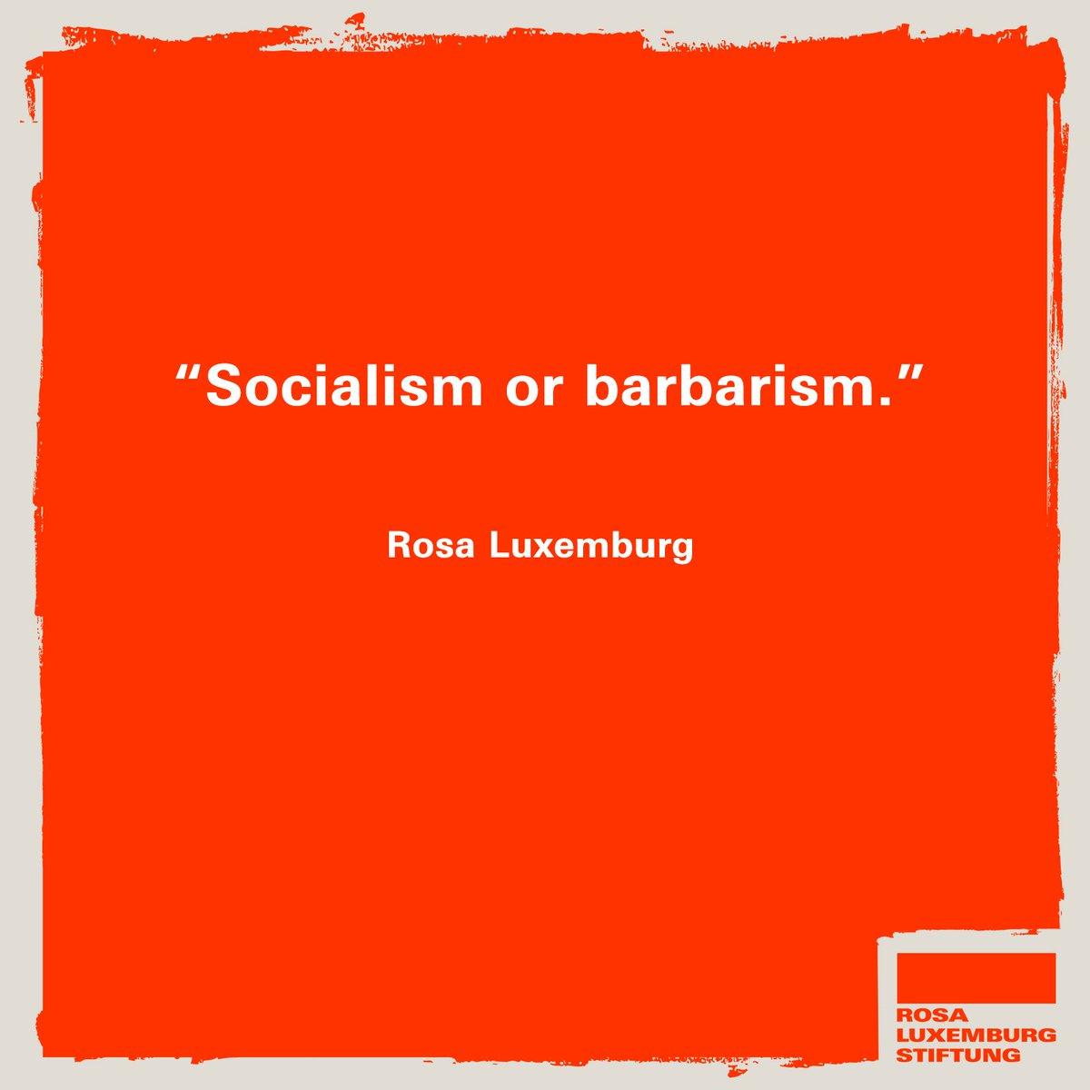 #QuoteOfTheDay #SocialismInOurTime #RosaLuxemburg #Inspiration https://t.co/TgruURIhNG
