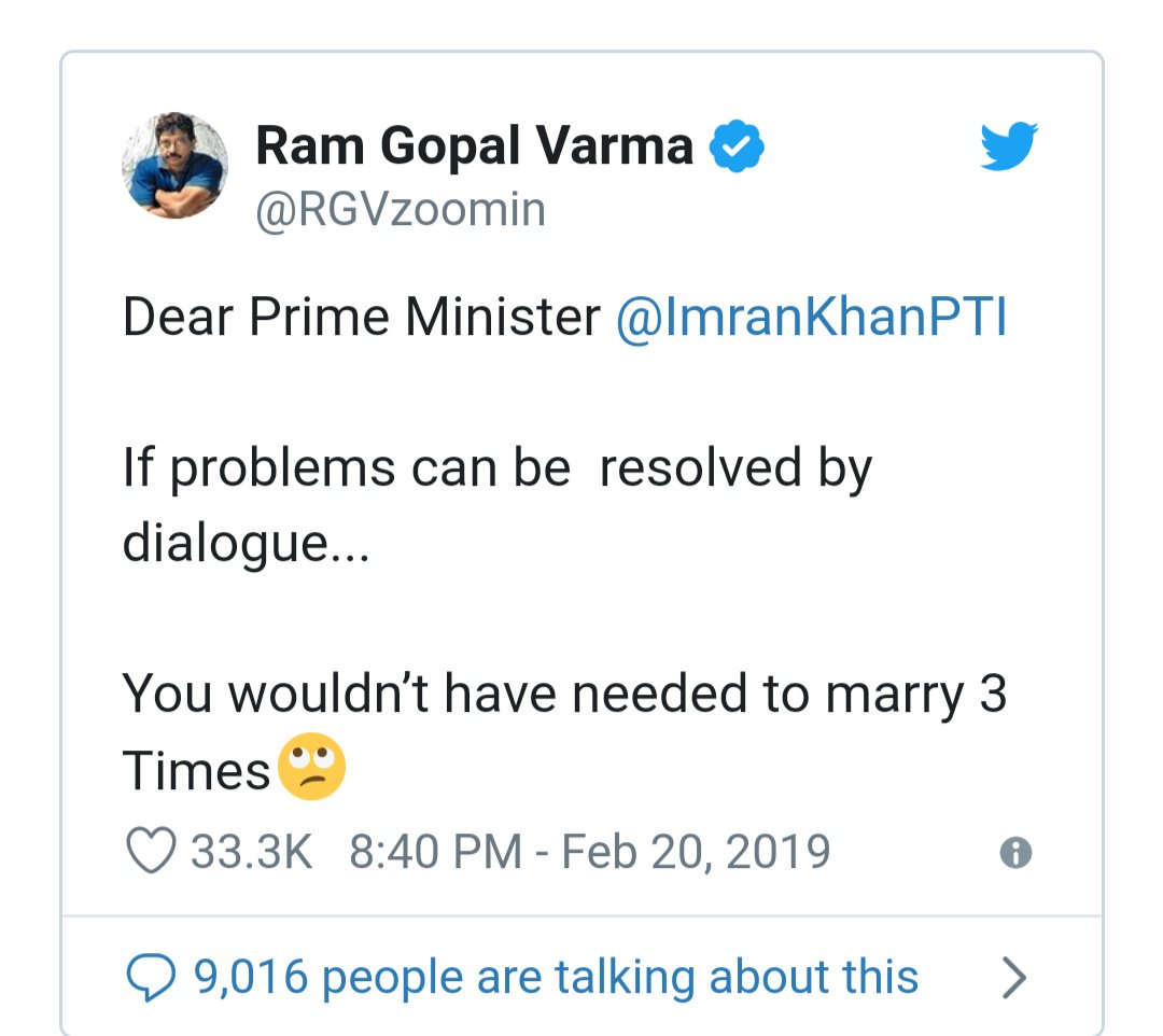 test Twitter Media - Do you think that he has a valid point ??? 😂😂😂 👻👻👻💥💥💥🔫 #NoCricketWithPakistan #ramgopalvarma #revenge https://t.co/ZtpBPwp5VR