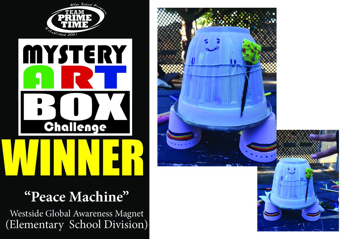 test Twitter Media - Congrats TPT #MysteryArtBoxChallenge Feb Winners: @Westsidemagnet & @CitySchoolsLA /THEME: #RobotPlanters At the same time, 8 TPT Schools were given 1 box of identical art supplies and 1 hour to create a masterpiece @LAUSDVisualArts @LA_USD @LAUSD_LDWest @LAUSDArts @BTBLA @BTBMSU https://t.co/HIwuLQtUmc