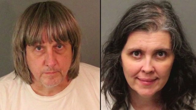 """test Twitter Media - A #California couple who shackled some of their 13 #children to beds and starved them pleaded guilty Friday to torture and other abuse in a case dubbed a """"house of horrors."""" https://t.co/NbVJxZHiti https://t.co/onIXv8LIAN"""