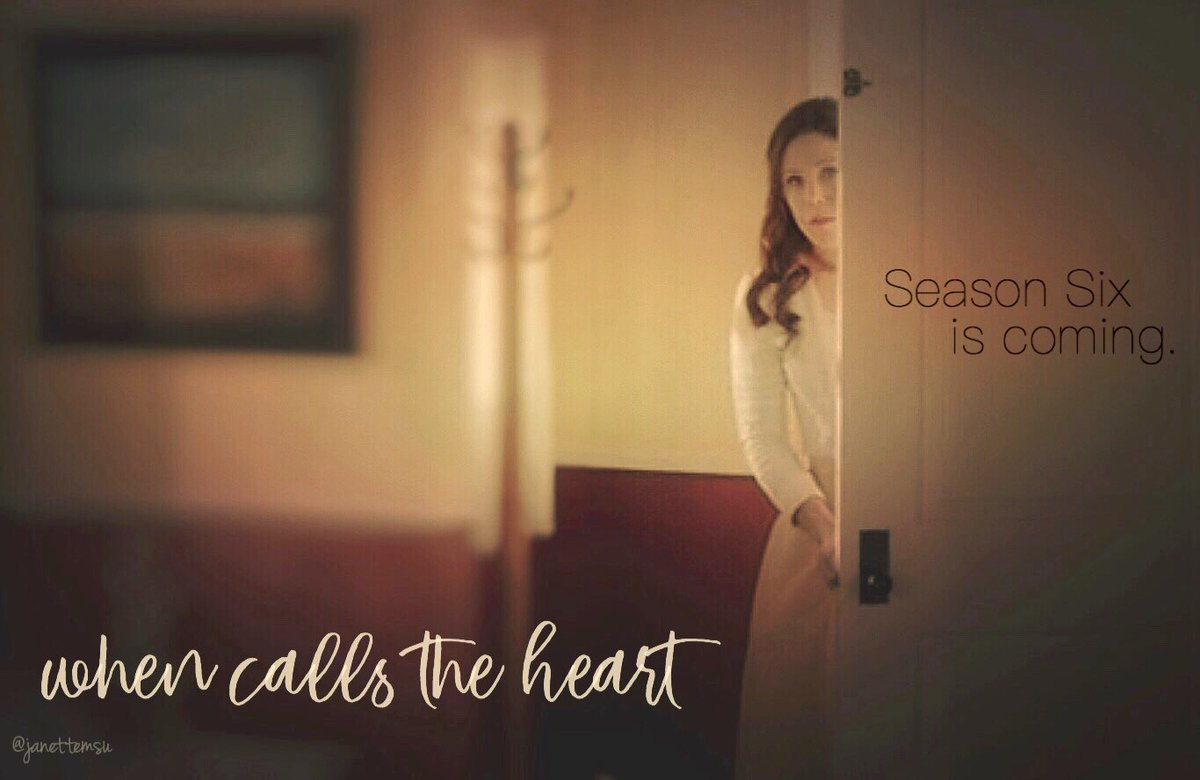 Are you ready?! #Hearties #WhenCallsTheHeart #SeasonSix @hallmarkchannel @erinkrakow https://t.co/W1xpUWsjVt