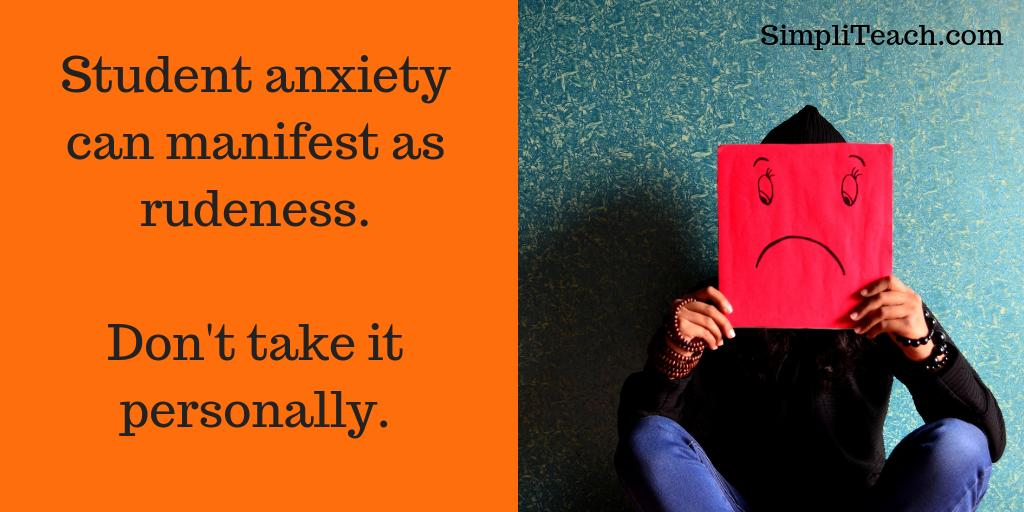 test Twitter Media - 10 ways to help anxious #students with #elearning 😟 | 5. Remember stressed online learners can lash out. It's probably not about you. https://t.co/U6X7emTzCt
