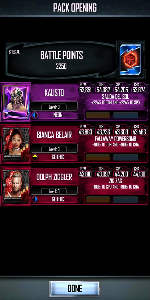 test Twitter Media - Honestly, @WWESuperCard we don't need this bullcrap anymore. Winning a Shattered bg should have a guaranteed Shattered card from it at least. This is no use for anyone, probably just training/fusion food. It'll be greatly appreciated if y'all could make the change. #WWESuperCard https://t.co/DHQxq1L5AN