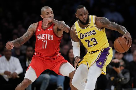 test Twitter Media - LeBron James 'Activated' in Lakers' Comeback Win Over Rockets https://t.co/kNZ9kg1BoQ   By SCOTT CACCIOLA via NYT Sports https://t.co/lvMlPkN2Qx  2019 at 05:30AM, February 22 https://t.co/EtFTOuOsba