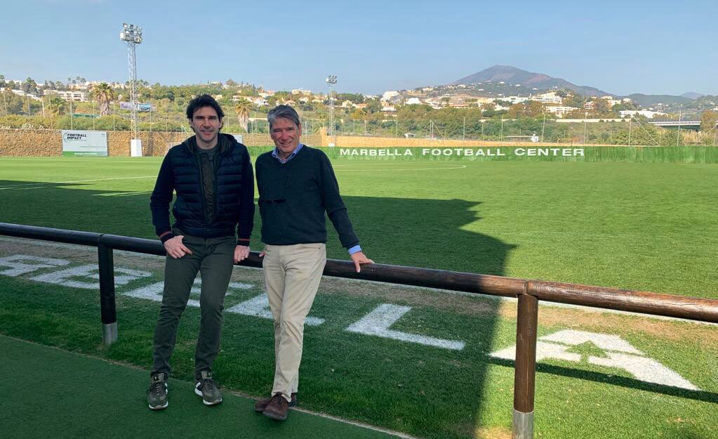 Visiting my friends at Marbella Football Center, where the facilities are improving all the time. https://t.co/0BewRAeCg3