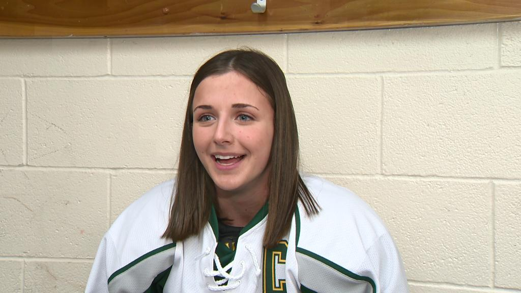 test Twitter Media - Action Athlete: Senior makes history as first female captain of boys hockey team https://t.co/u0KguekMMS https://t.co/DWuPgz2vY4