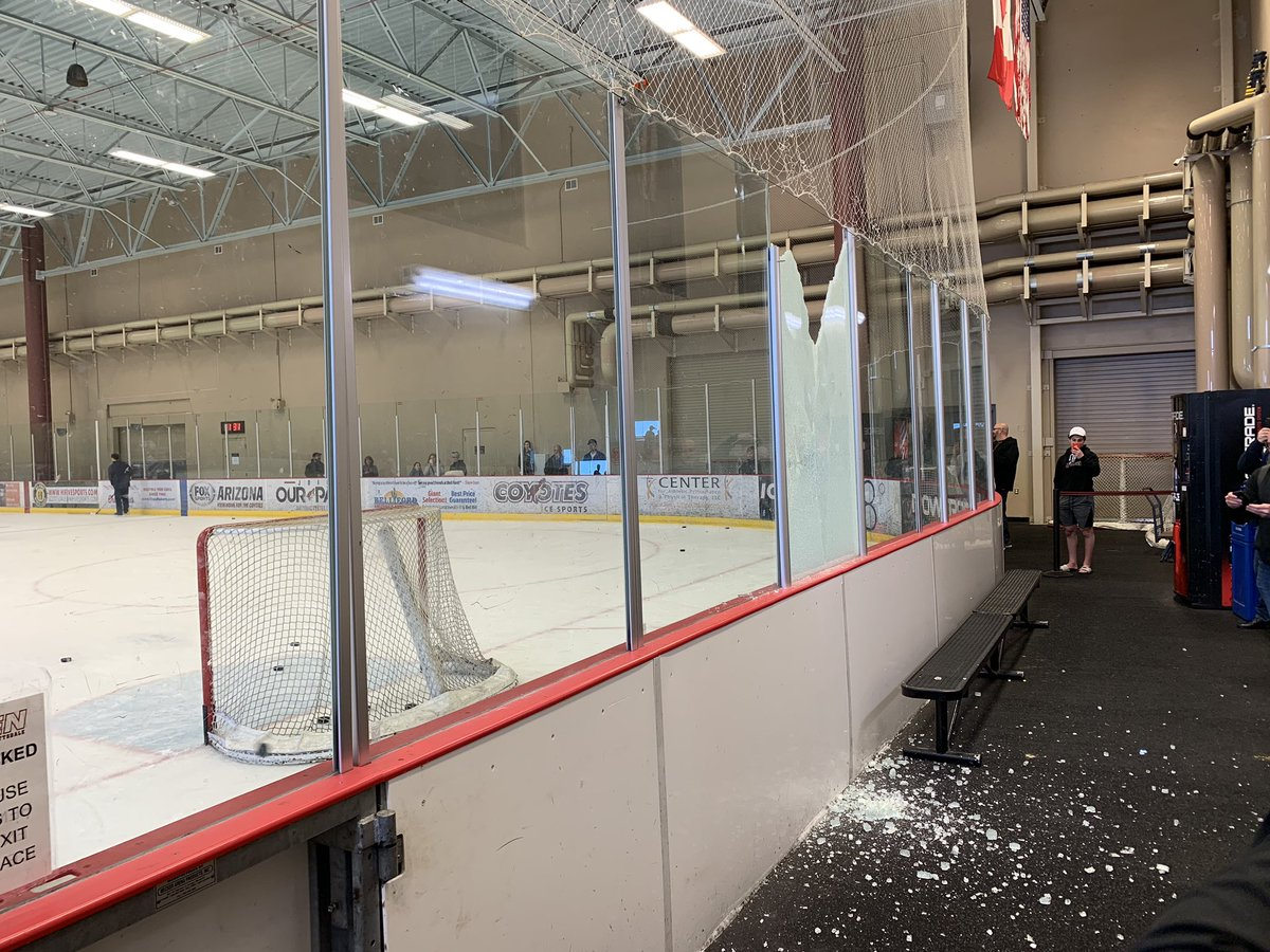 test Twitter Media - RT @MitchellClinton: A Patrik Laine one-timer did some damage at the Ice Den in Arizona. https://t.co/d9aKWuOFnt