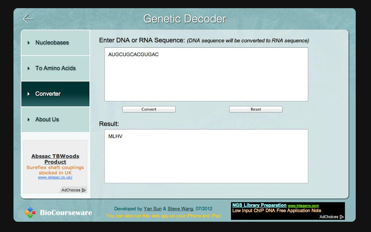 test Twitter Media - #STEM #techtool Free #webapp for #genecode https://t.co/67GUj0Cwov https://t.co/KDsVfxleNy