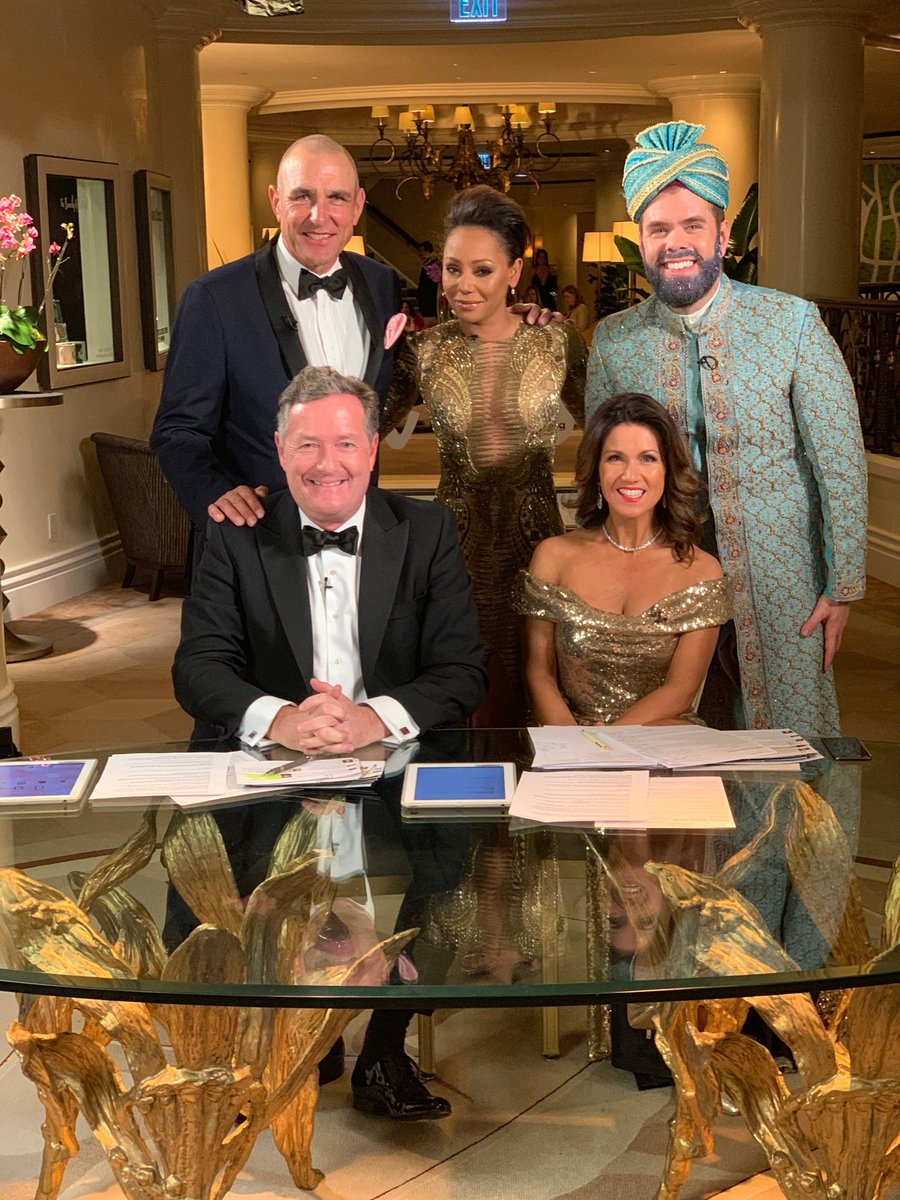 RT @piersmorgan: Greatest panel in Oscars history! ⁦@VinnieJones65⁩ ⁦@OfficialMelB⁩ ⁦@ThePerezHilton⁩ ⁦@GMB⁩ #LA https://t.co/QN2OPVJSI0