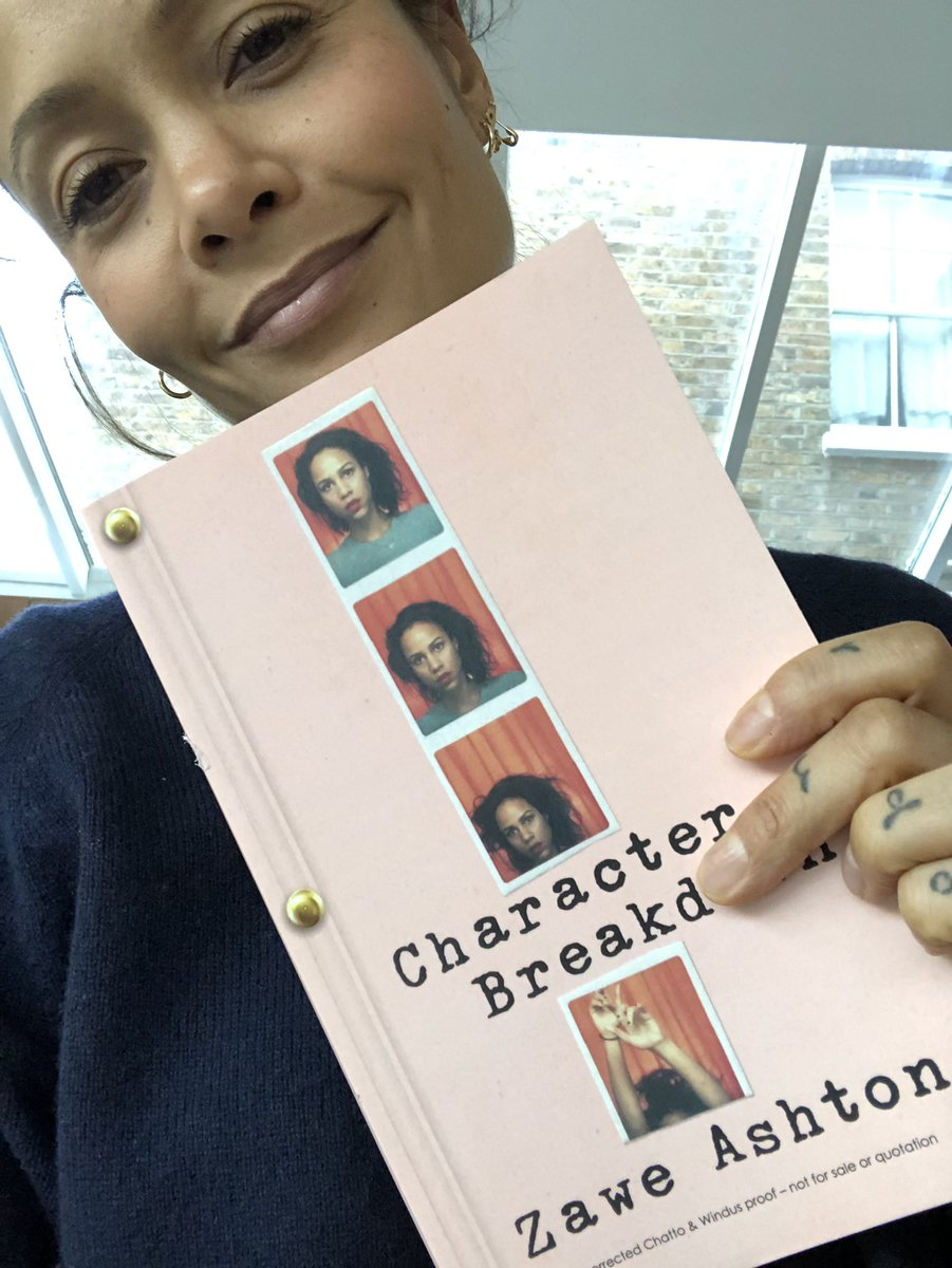 Nice one @ZaweAshton  #Betrayal @HPinterTheatre in March ???????????????? and new book out in April. Seriously bringin' it! Xx T https://t.co/HxMM9Nt2Vg