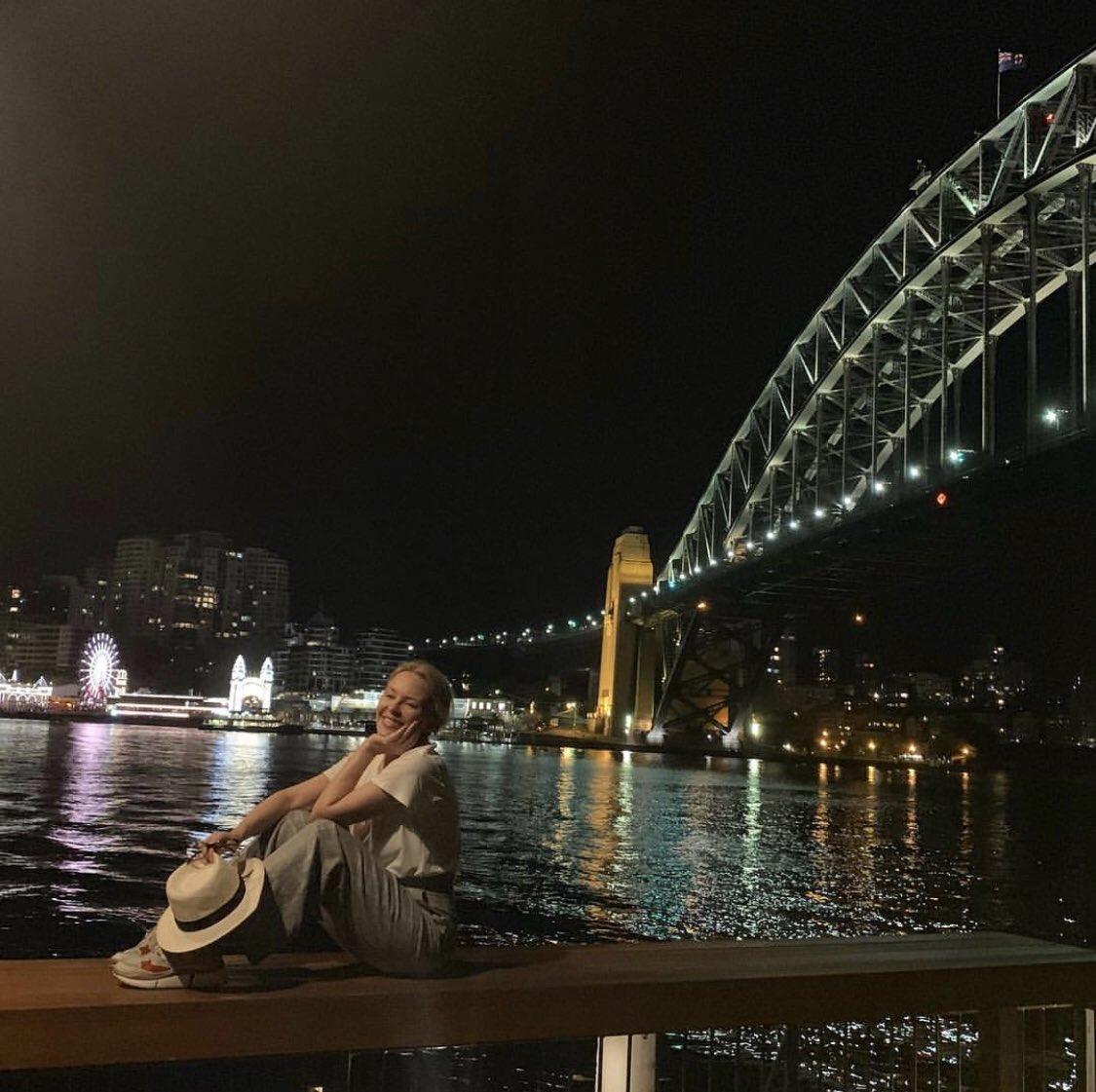 Touchdown! Hello Sydney #Australia ???? #GoldenTour https://t.co/J81M4JwQe8