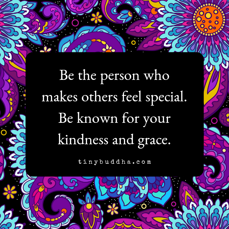 Be the person who makes other feel special. Be known for your kindness and grace. https://t.co/UytKJtEy47