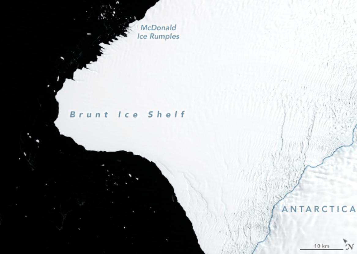RT @BGR: Iceberg twice the size of New York City is about to break free from Antarctica https://t.co/ZcgIBR2qBg https://t.co/Q85NjuHPFP