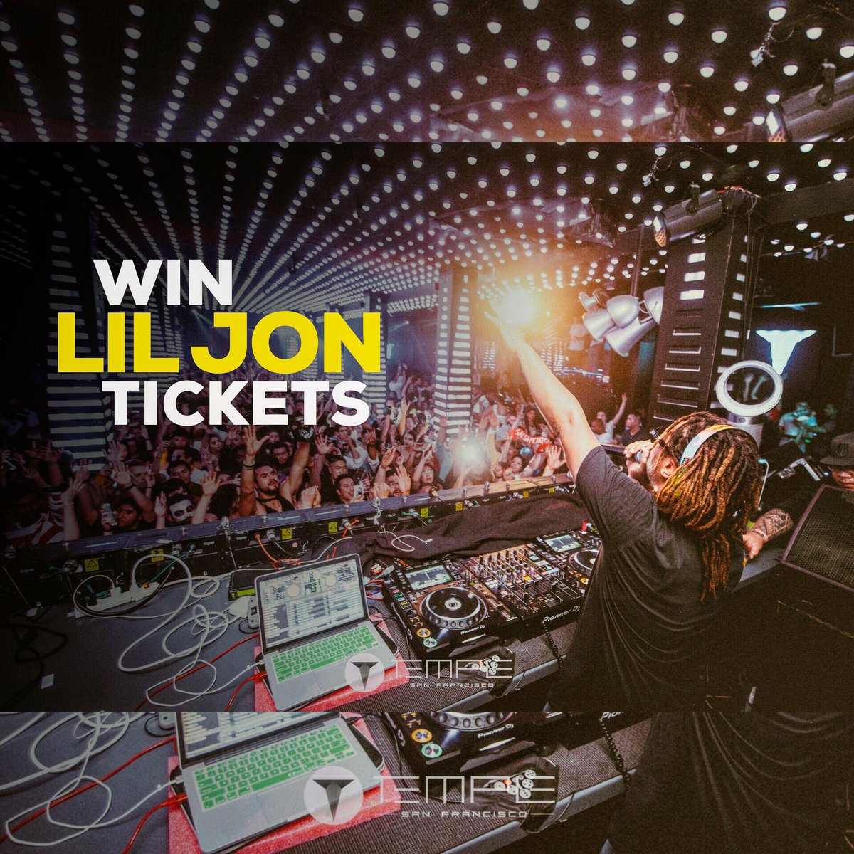 RT @Temple_SF: YEAAAA ‼️  Win a pack of 4 tickets to @LilJon this Saturday!   Enter ➡️ https://t.co/fcmgsTCICg https://t.co/tHSFGVyGff