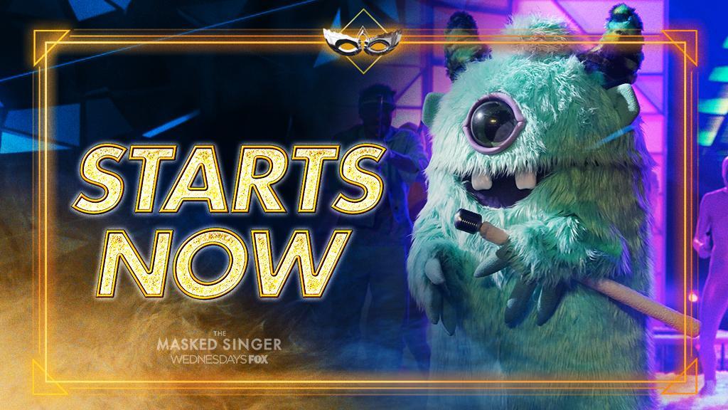 RT @MaskedSingerFOX: Let the show begin! ???? #TheMaskedSinger season finale starts NOW. https://t.co/v4jgdkxGFW