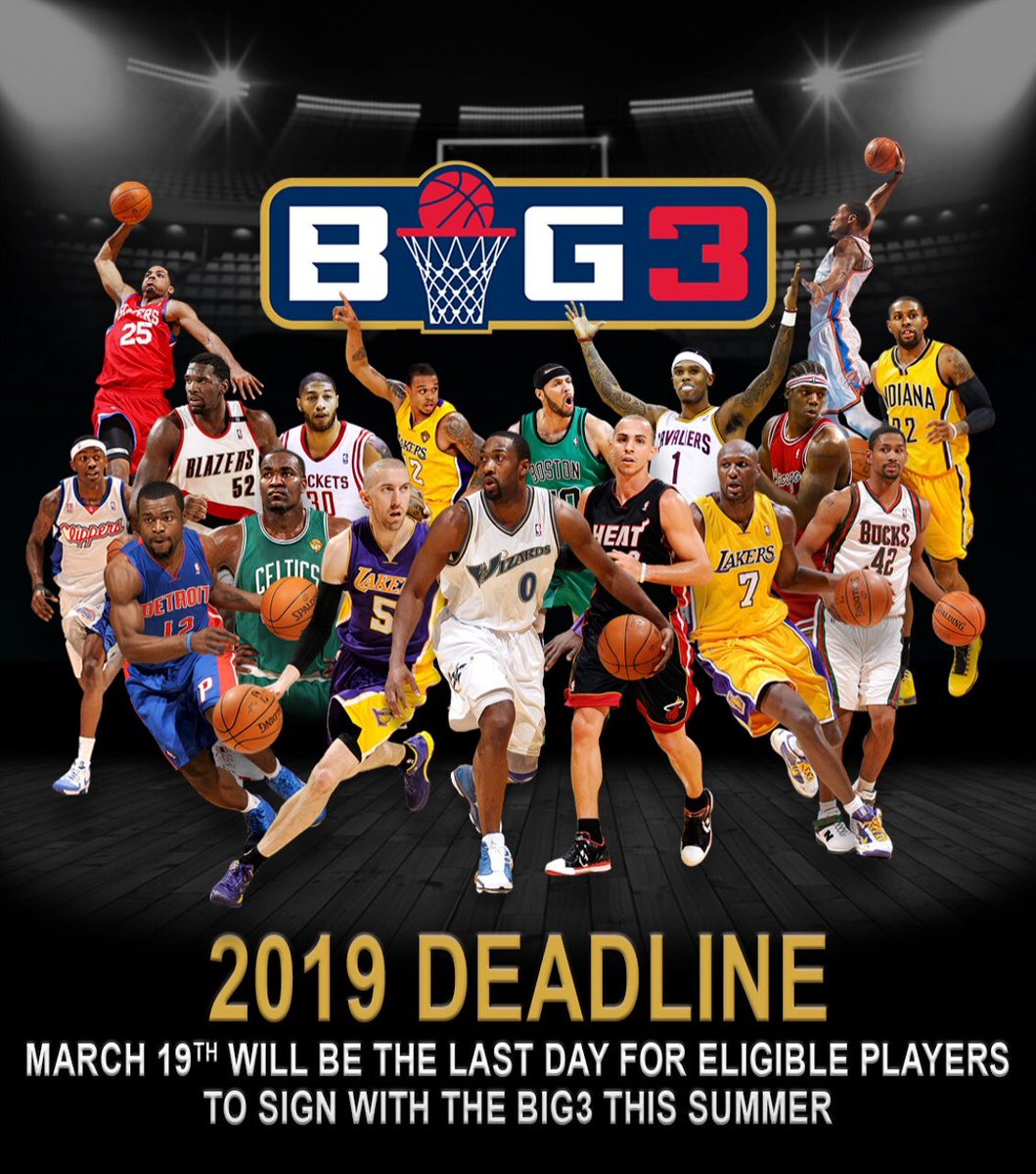 Time to decide. Are you still a Baller or do you just wanna stay home and get fat. #big3season3 https://t.co/b2iheUCDUc