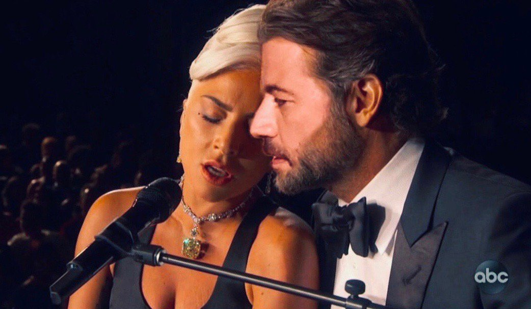 RT @jimmykimmel: Oscar winner @LadyGaga on #Kimmel TONIGHT! #AStarIsBorn #Shallow #LittleMonsters https://t.co/kNIF7GlHC8