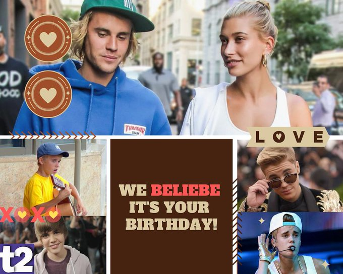 Happy birthday Justin Bieber, the name that spells straight-up coolness!