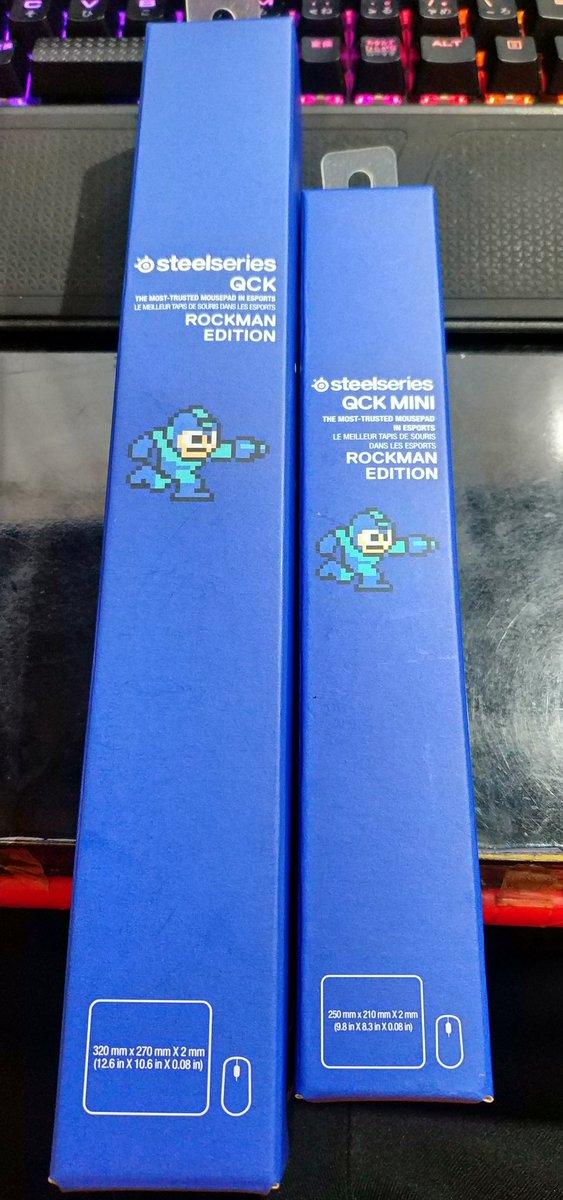 test ツイッターメディア - 月末で忙しかったけどsteelseriesのQcK Rockman Editionを両方IYH!ロックマンやワイリーよりイエローデビルの存在感が凄い。このコラボマウスパッドのシリーズ大好きだから続けて欲しい。 https://t.co/M1XAWOtWTg