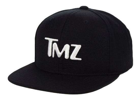 Make all your friends jealous with your new TMZ snapback!